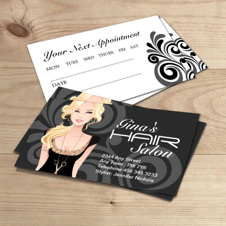 Customizable Hair Salon Business Cards Zazzle Com Salon Business Cards Beauty Salon Business Cards Beauty Business Cards
