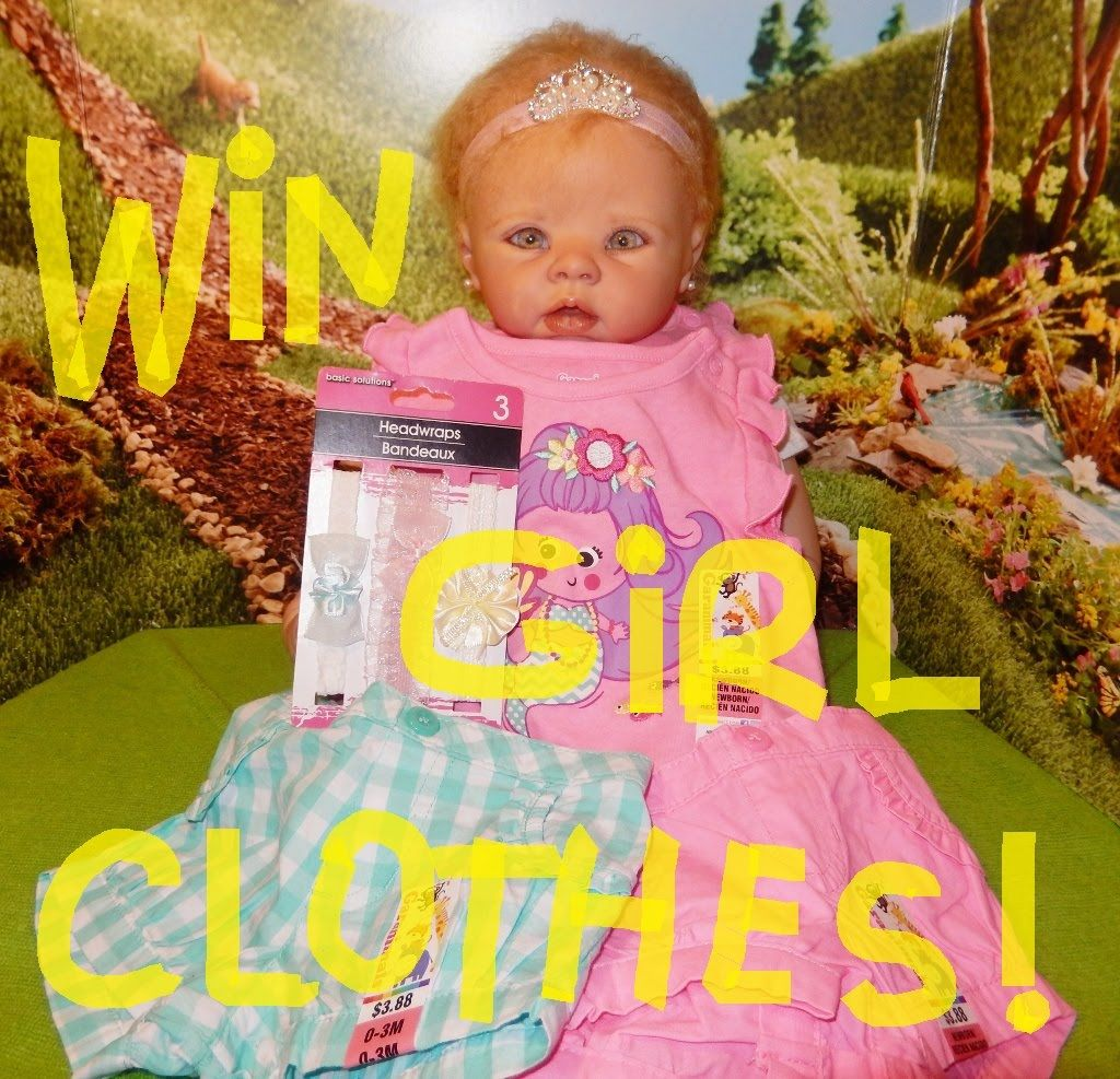 WIN Reborn GIRL Clothes For My Sept. Giveaway!
