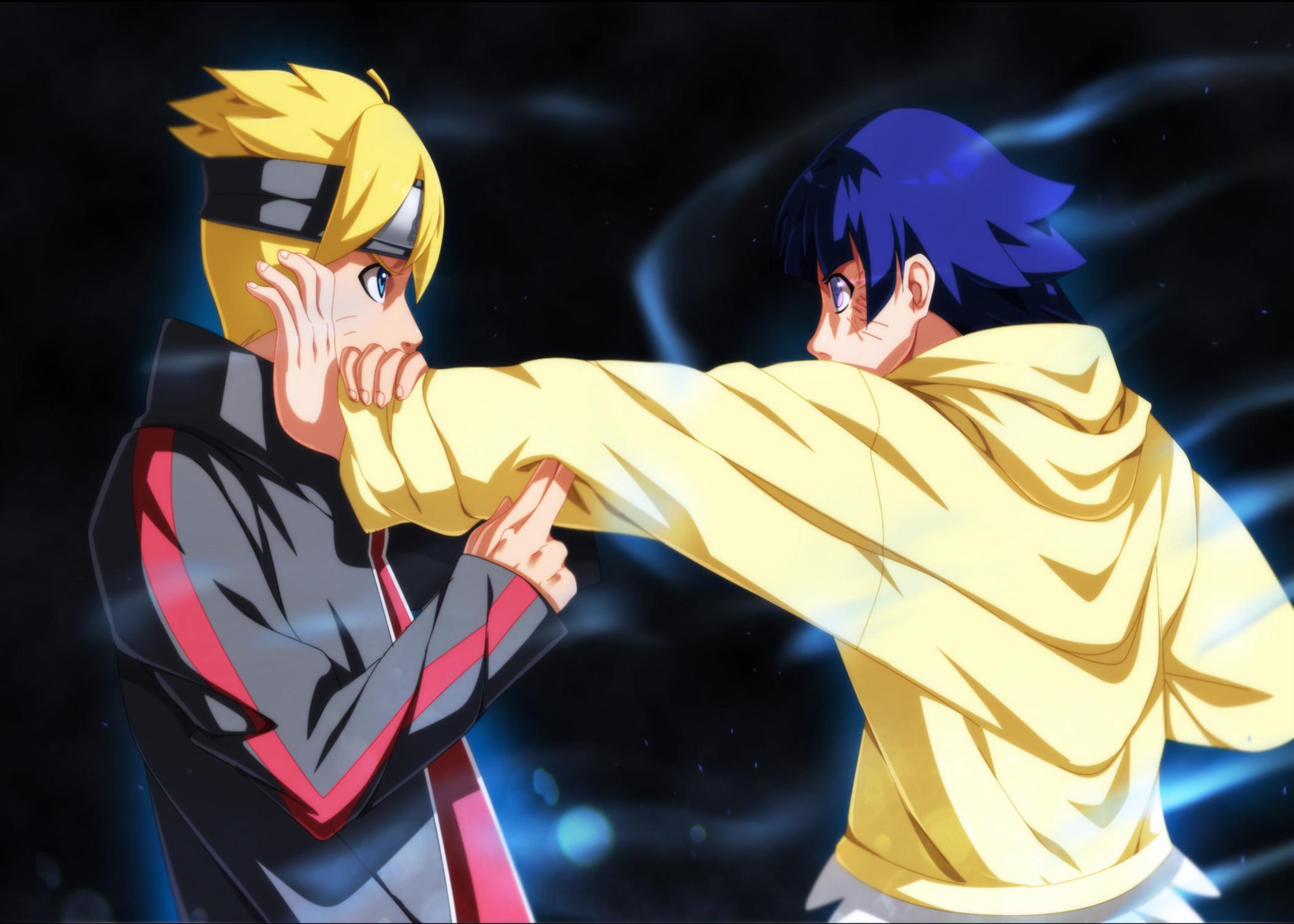 Anime Boruto Naruto The Movie Naruto Boruto Uzumaki