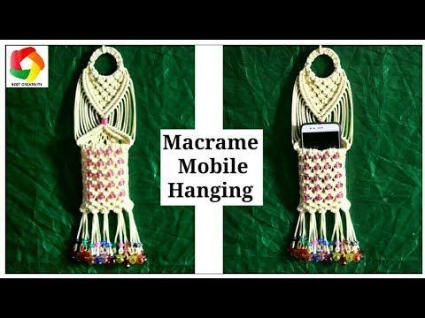 Full Making Tutorial Of Beautiful Handmade Macrame Ladies