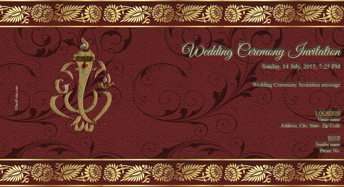 Hindu Wedding Invitation Inspirational Indian Wedding