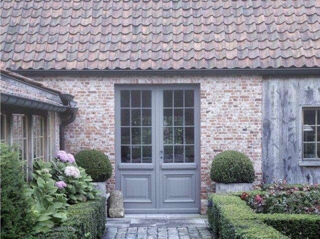Fermemoderne11 ogrody Pinterest Doors, Glass doors and House - peinture porte et fenetre