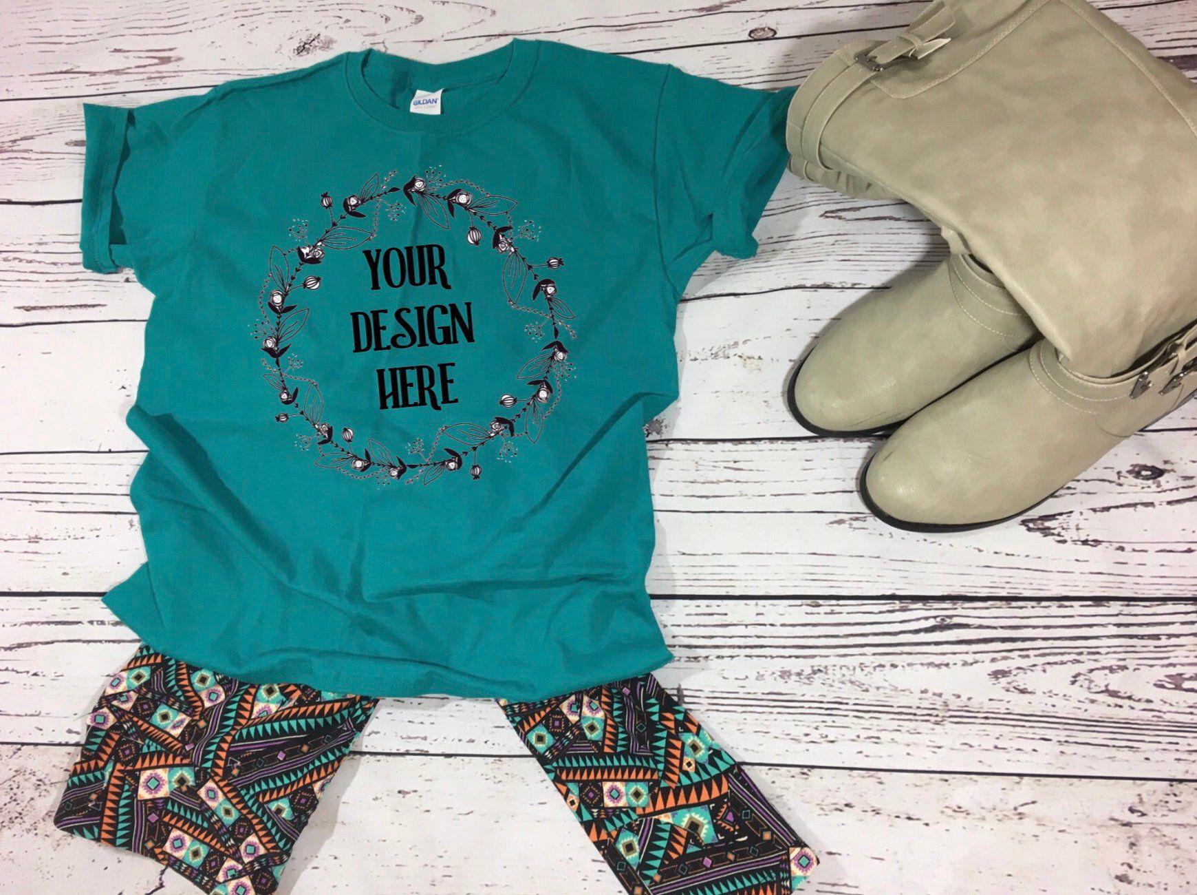 Download Boutique Mockup | Shirt Mockup | Gildan Mockup | Tshirt ...