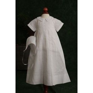 This is the gown my lil man wore for his baptism..it matched his twin sisters..they were both beautiful!