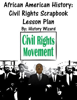 American History: Civil Rights Scrapbook Lesson Plan