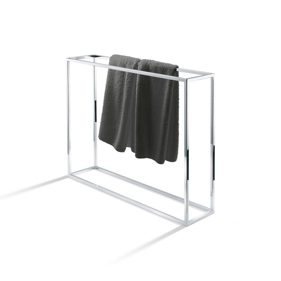 towel stand chrome. DW HT 40 Free Standing Towel Stand In Chrome   17O Master Bathroom Pinterest Towels, And Bathrooms G