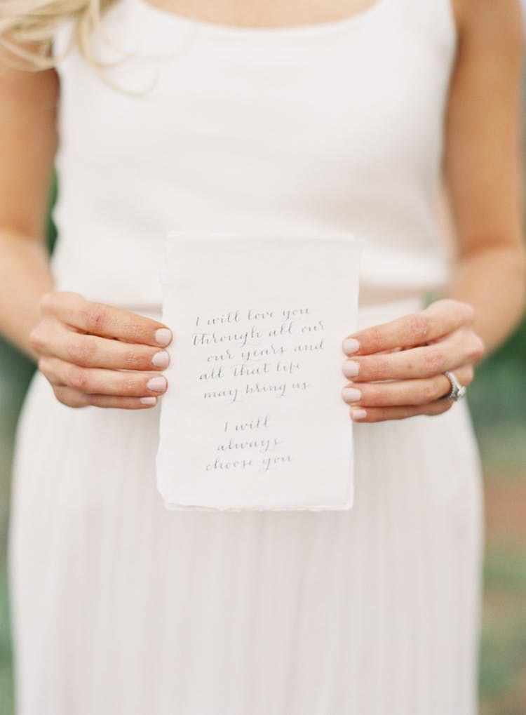 best tips ever on how to write your own vows  writing