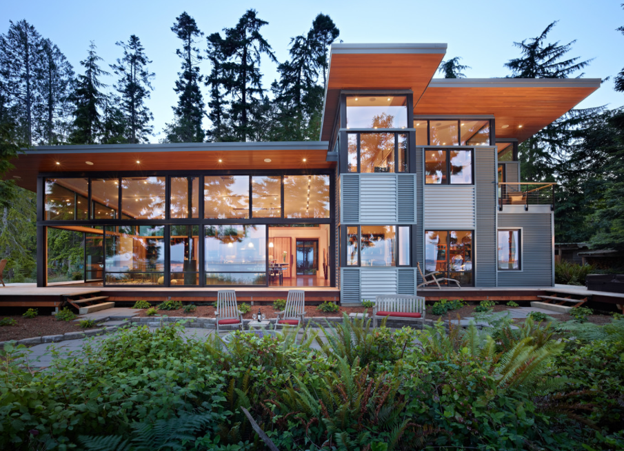 Seattle based studio Finne Architects designed the
