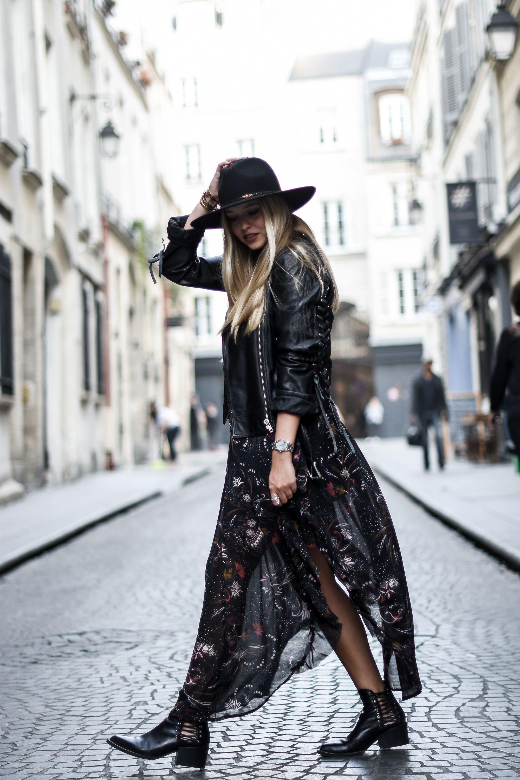 1569ea78779 blog mode    Comment porter une robe bohème en automne
