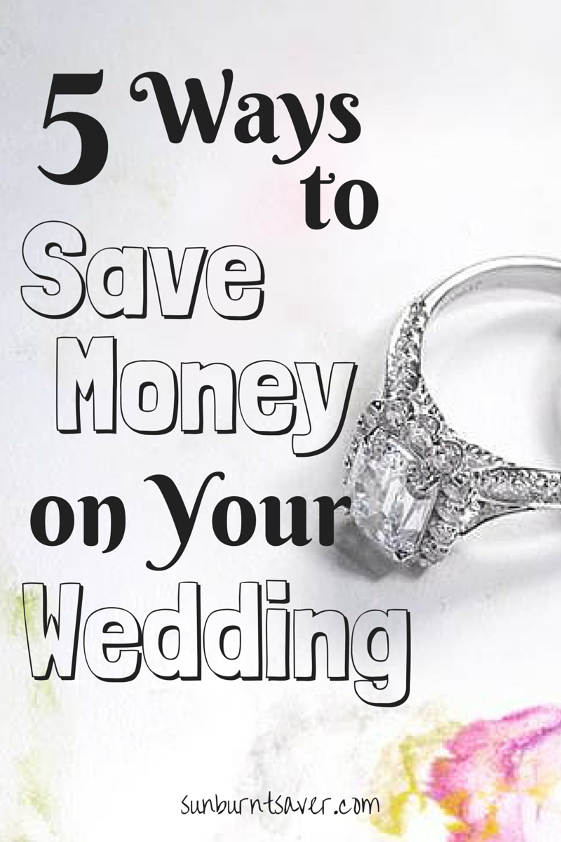 5 Ways to Save on Your Wedding Dress