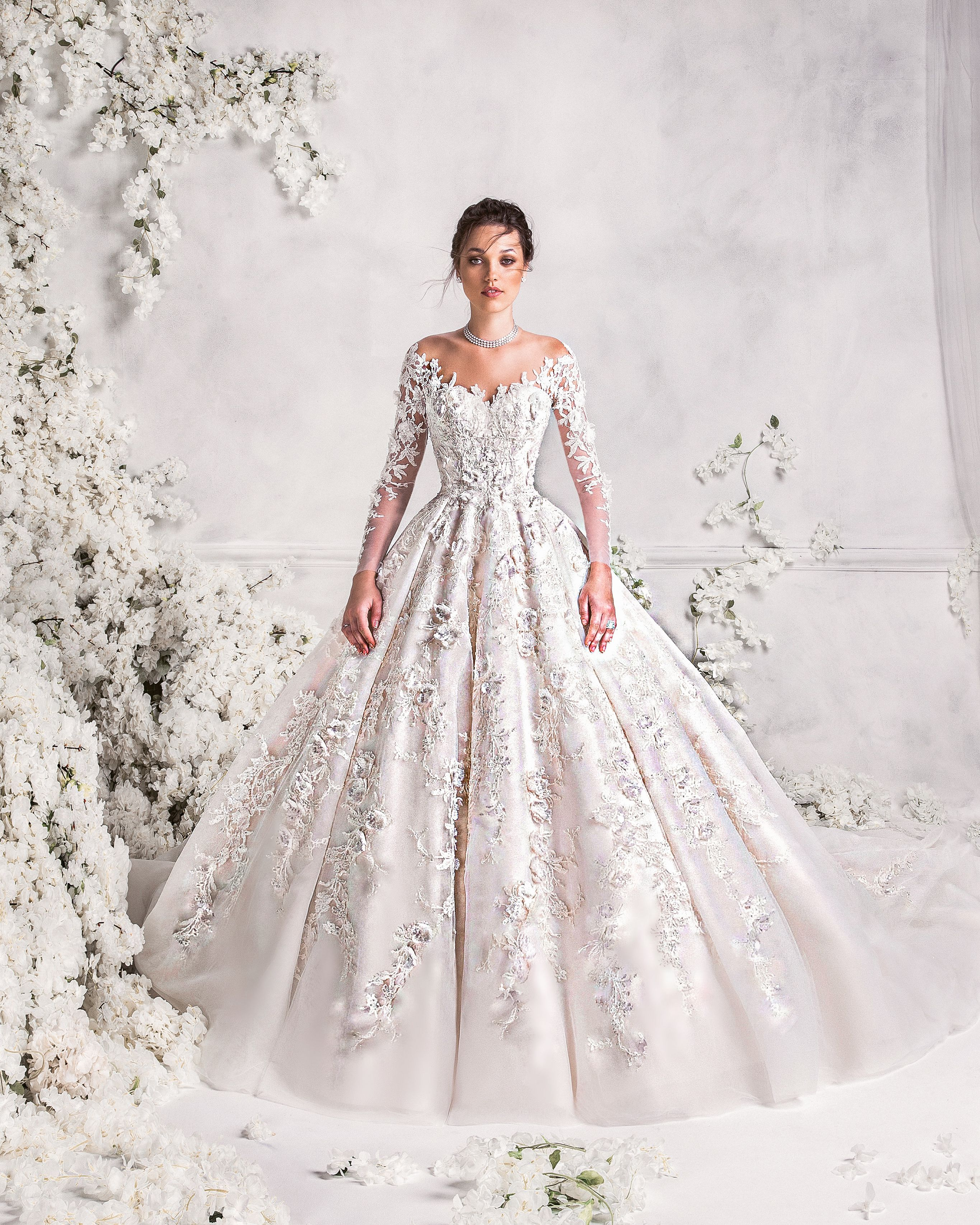 Extravagant wedding dress! #hautecouture #ramialali #fashion