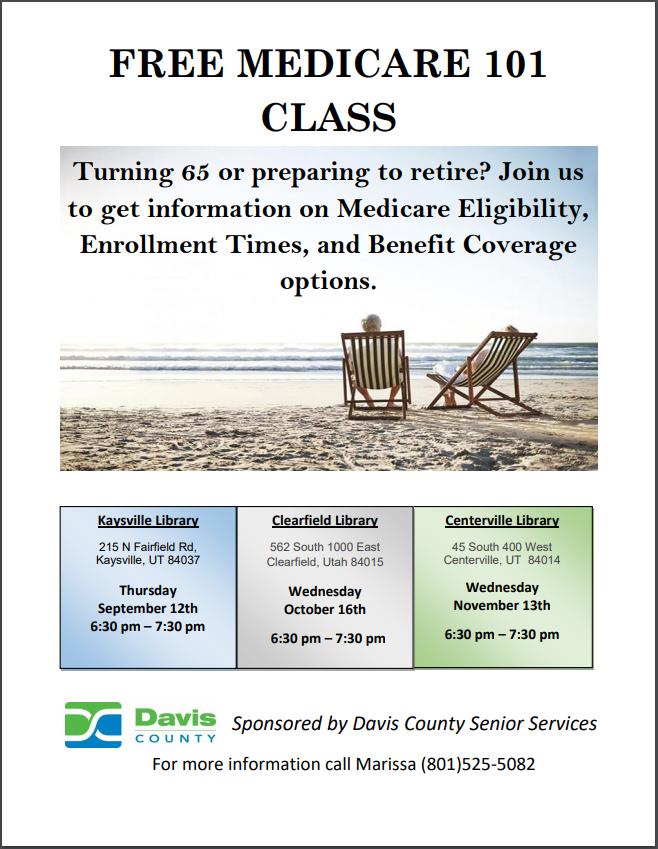 Medicare 101 Class Medicare Benefit Free Information