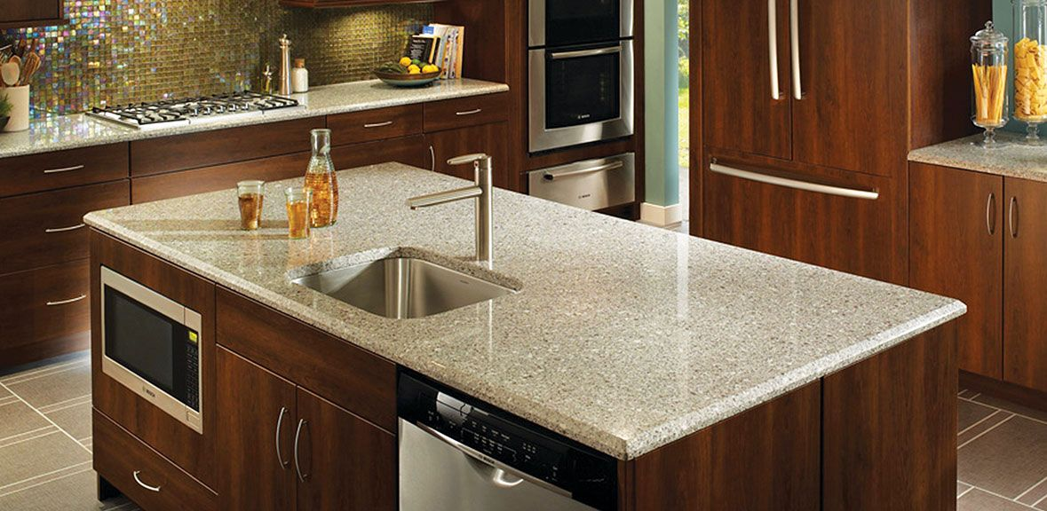 Silestone® Quartz Countertops In Alpine White