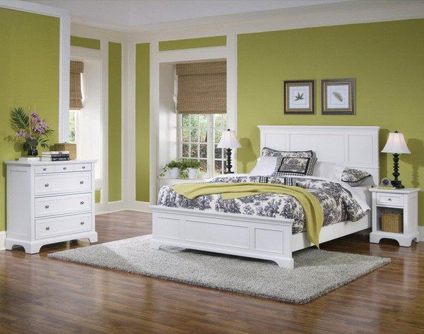 45 Beautiful Paint Color Ideas for Master Bedroom Green master