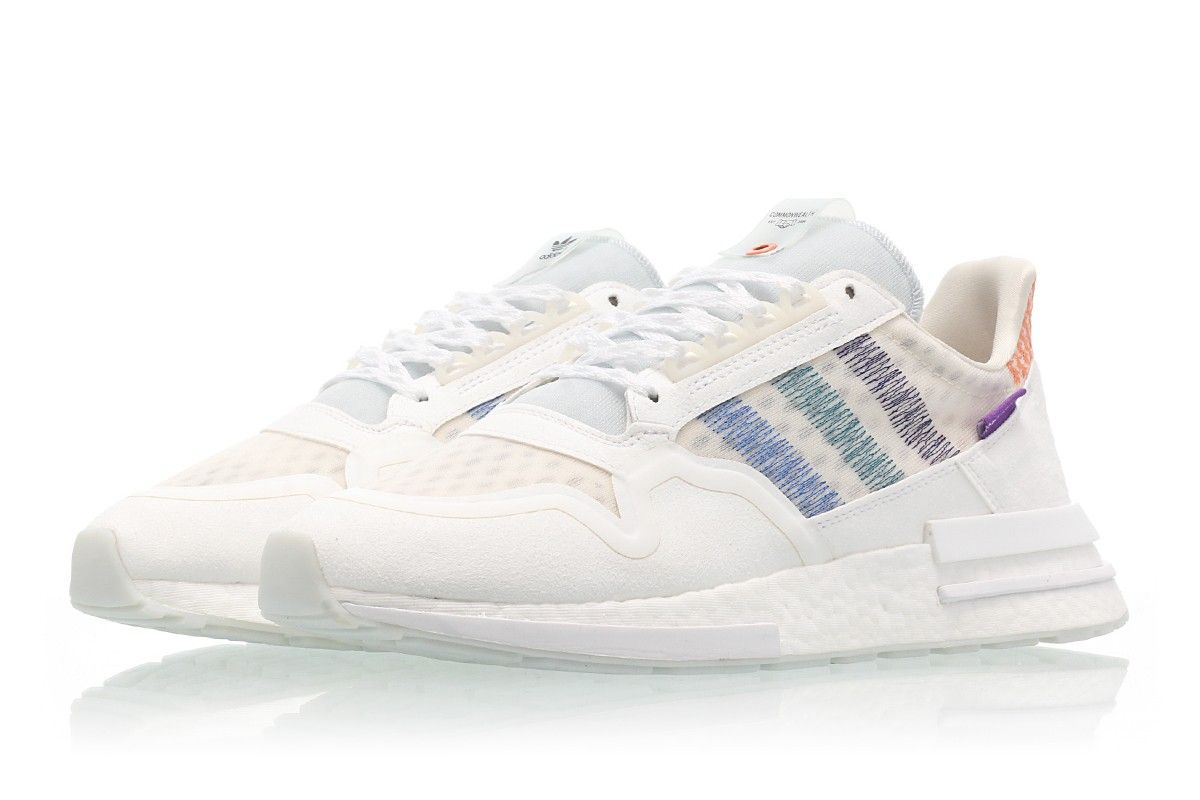 Commonwealth x adidas Consortium ZX 500 RM DB3510 Homme Blanche