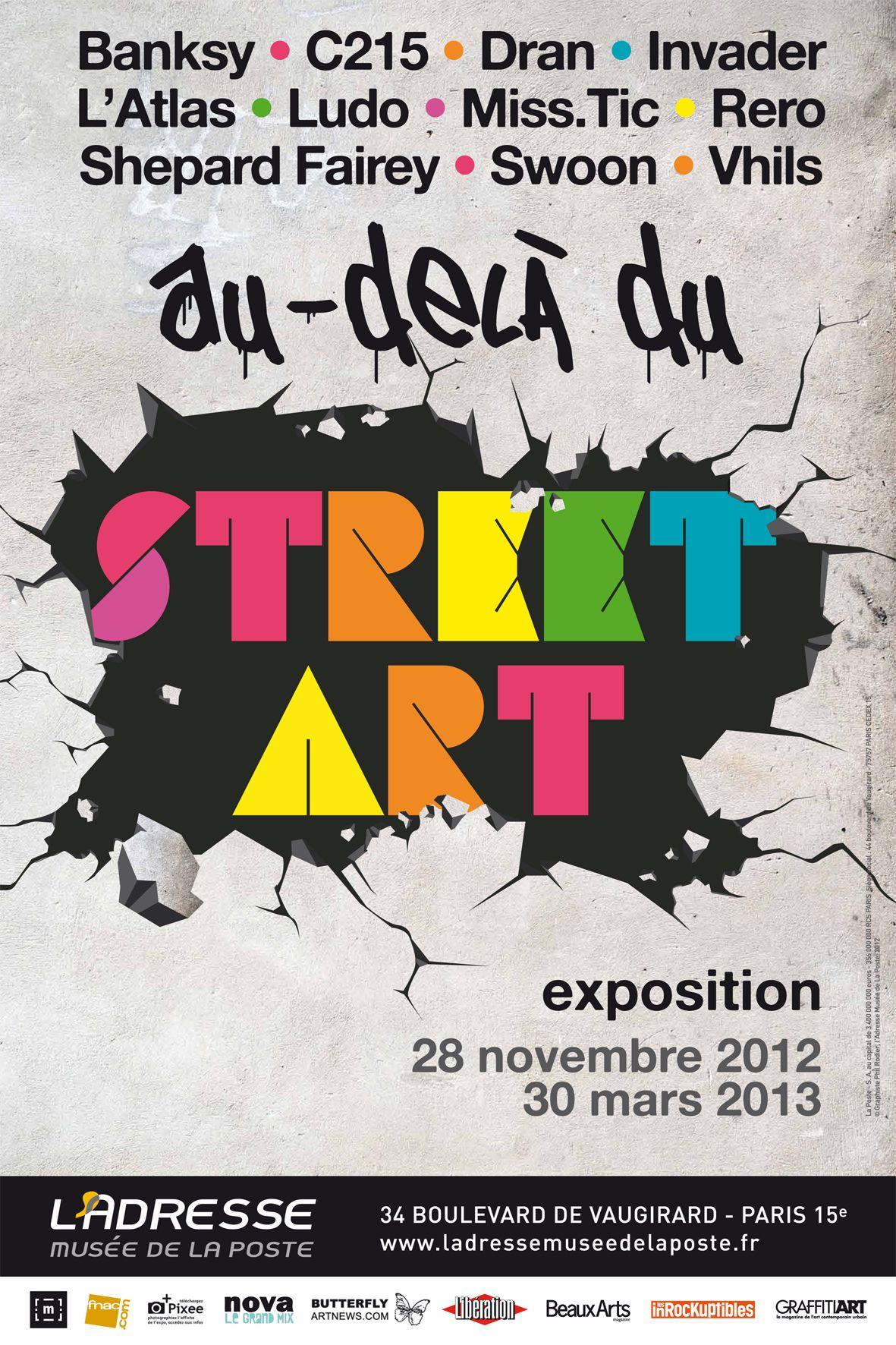 affiche de l'exposition | illustration | pinterest | street art and