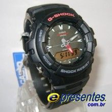 958e51c119d G-101-1AV Relógio Casio G-Shock Antimagnetismo