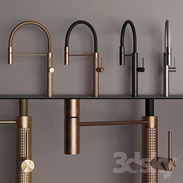 models: Faucet - Gessi 316 Kitchen3d models: Faucet - Gessi 316 Kitchen  Abode ALTHIA Single Lever