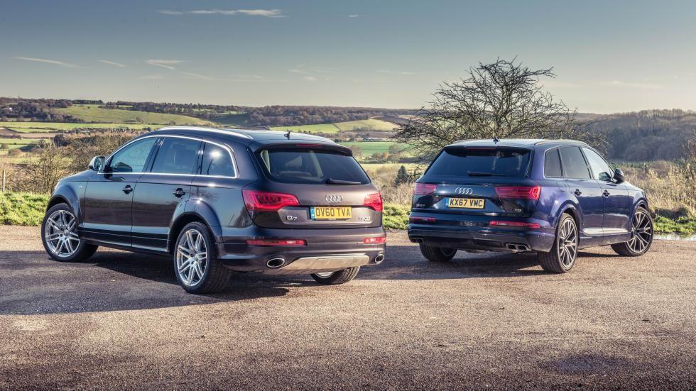 Machtige Diesels Audi Sq7 Versus Q7 V12 Tdi Audi Diesel