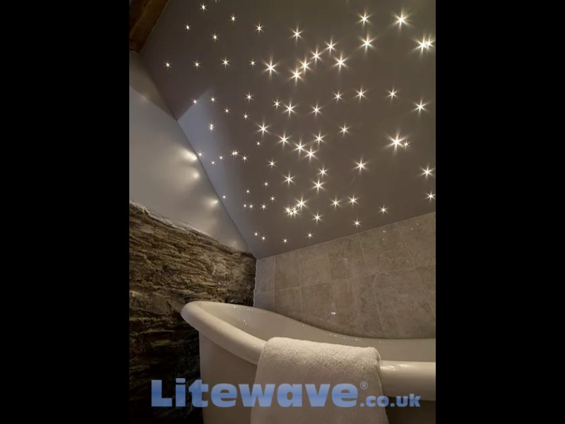 3w Led Fibre Optic Star Lights Kit