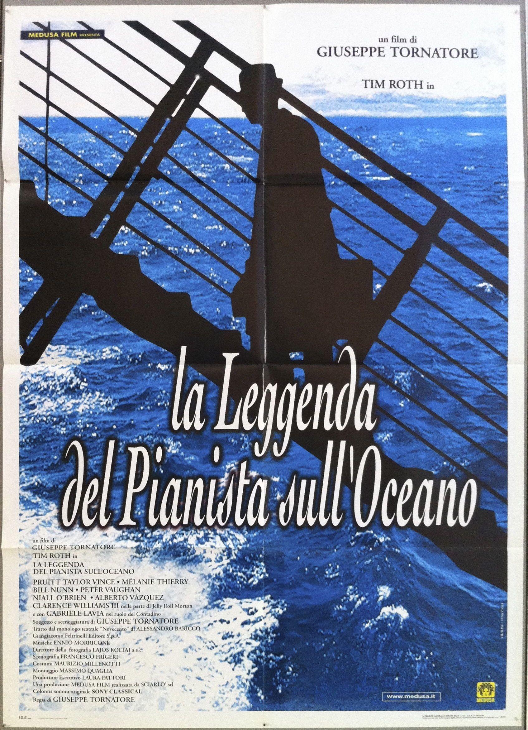 La Leggenda Del Pianista Sull'oceano : leggenda, pianista, sull'oceano, Leggenda, Pianista, Sull'Oceano, Movie, Posters,, Memorabilia,