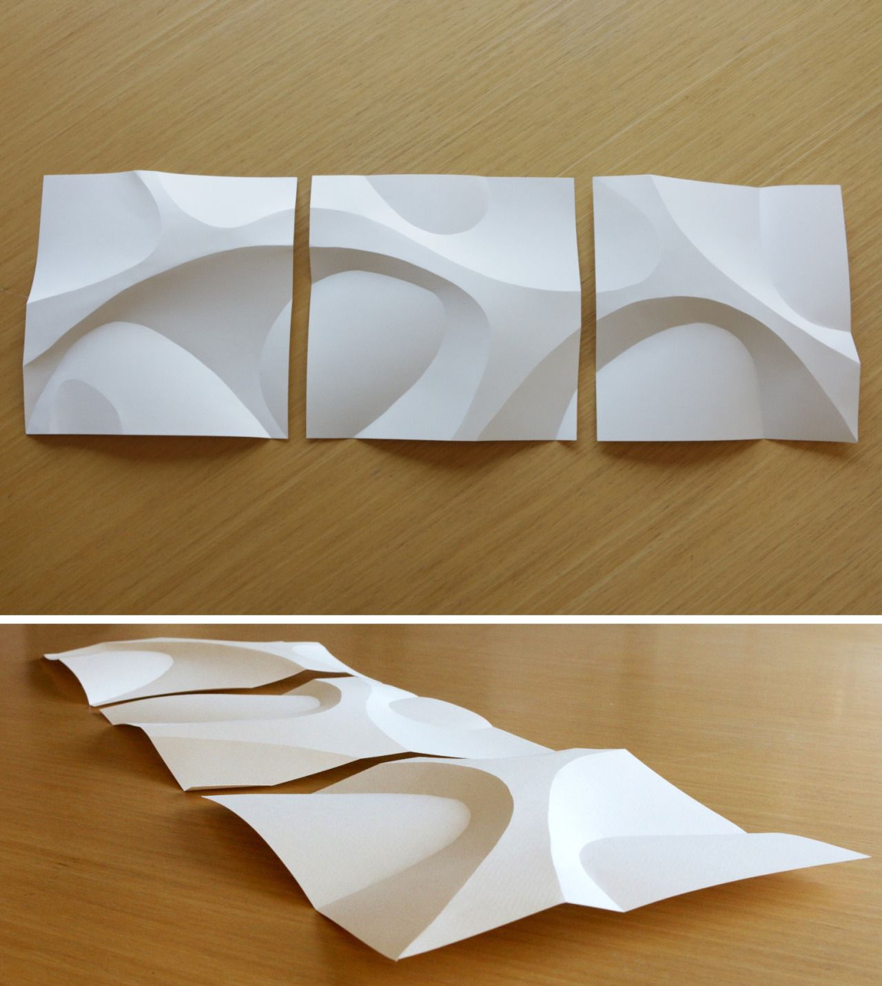 curved paper folding by 000christopher httpwww