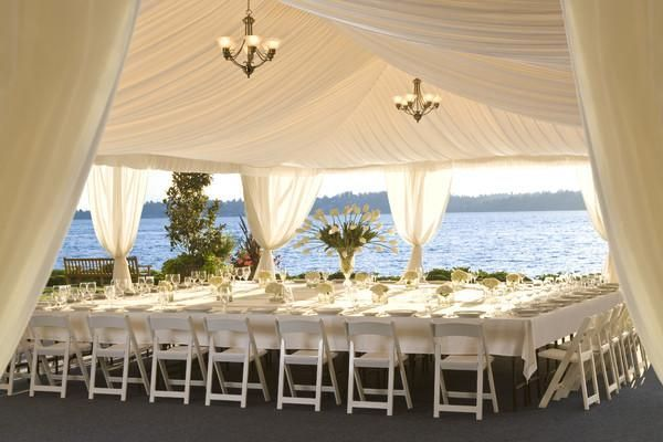 Hotel In Kirkland Washington Showcasing Stunning Views Of Lake And The Olympic Mountains