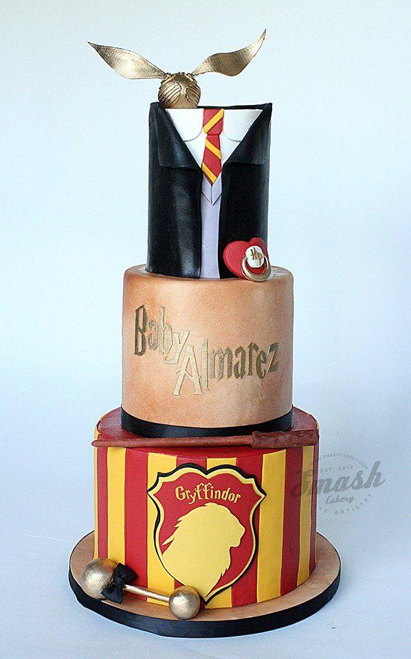 Harry Potter Party themed cake Harry Potter Party Pinterest
