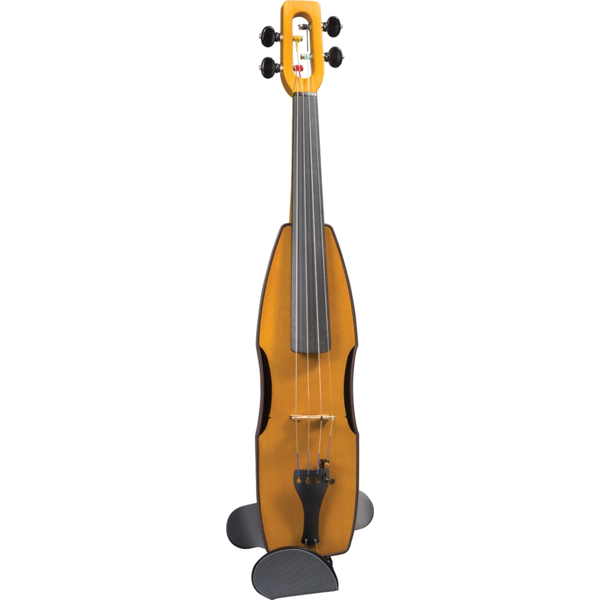 Cricket Violin - Friction Pegs - Amber | Fiddling Free
