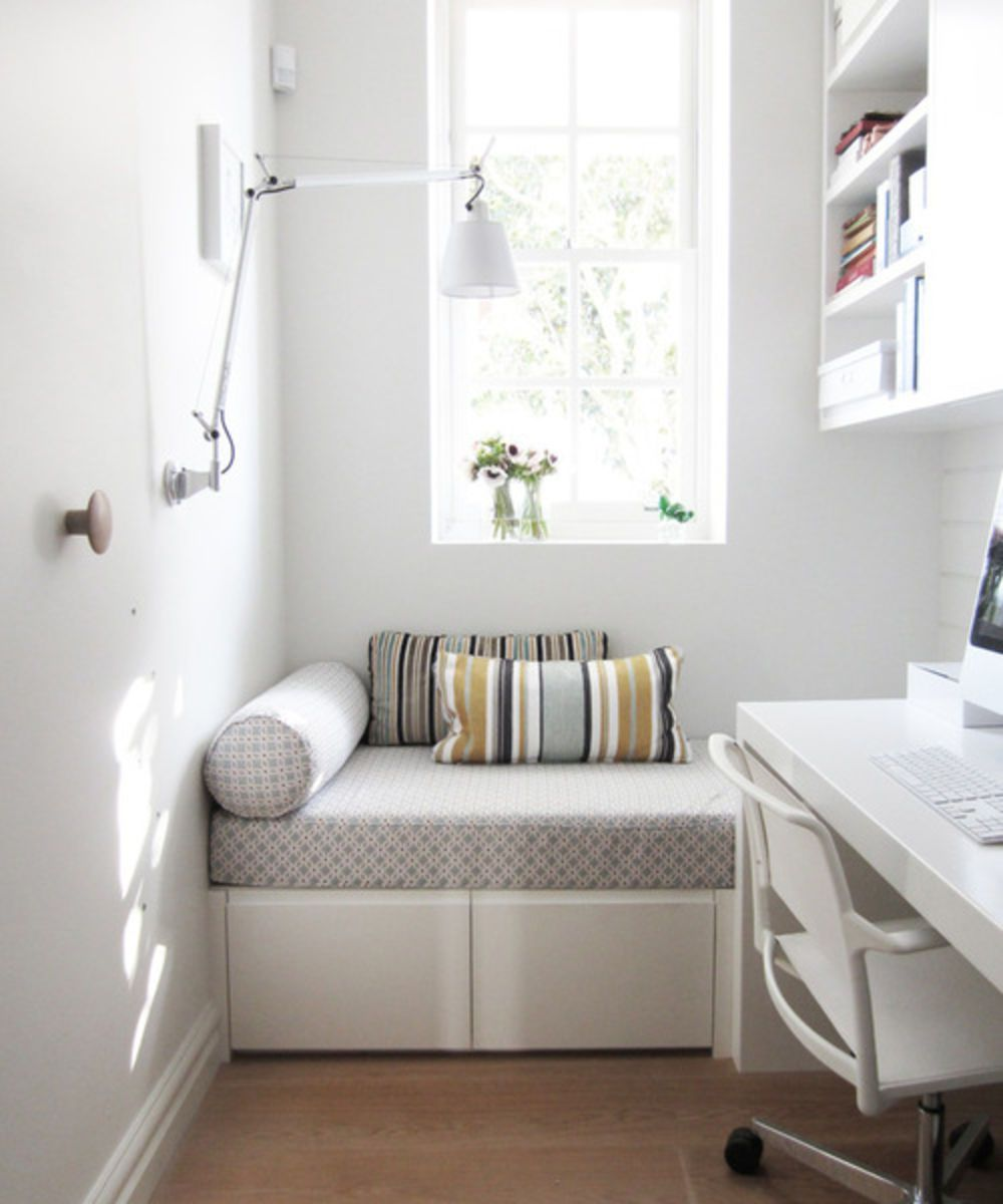 Save Space In Your Home Office By Getting A Daybed.