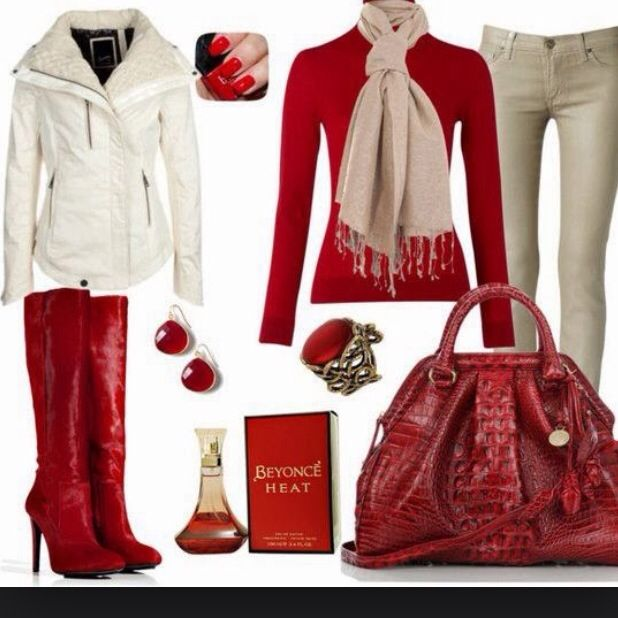 Another chic christmas outfit! Valentines Outfits, Valentine Outfits For  Women, Teen Fashion 2014 - Another Chic Christmas Outfit! Christmas Outfits In 2018