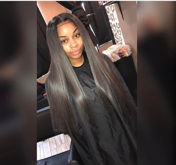 Long Straight Hair Straight Hairstyles Hair Styles Long Weave Hairstyles