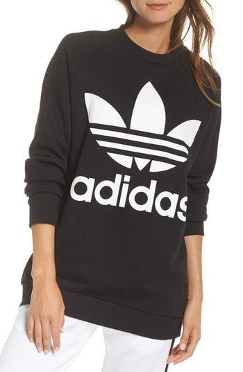 e4472a8ee69b1 Chic adidas Originals Oversize Sweatshirt - Fashion Women Activewear. [$80]  likeprodress from top store