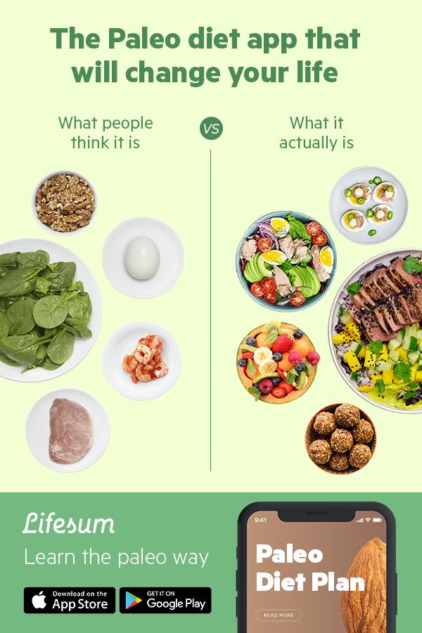 paleo diet calendar apps