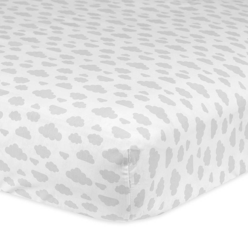 product image for gerbera printed fitted crib sheets 1 out of 2 buy