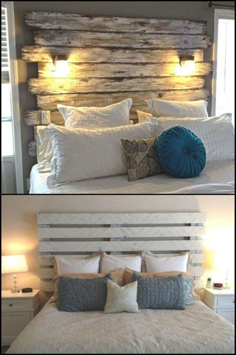 Diy Pallet Headboard Headboard Designs Wood Headboard