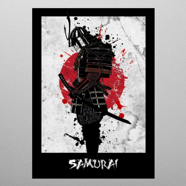 DEAD SAMURAI by FARKI15 DESIGN | metal posters - Displate | Displate thumbnail
