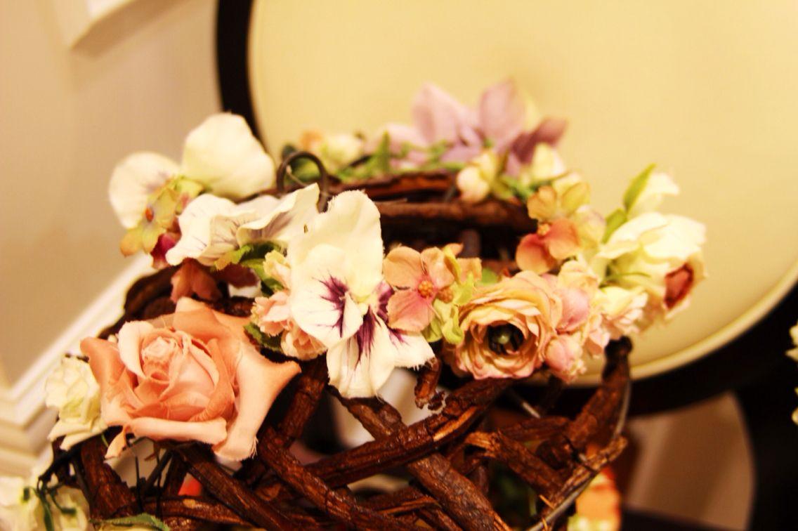 ニュアンスピンクの花冠で、ナチュラルに。