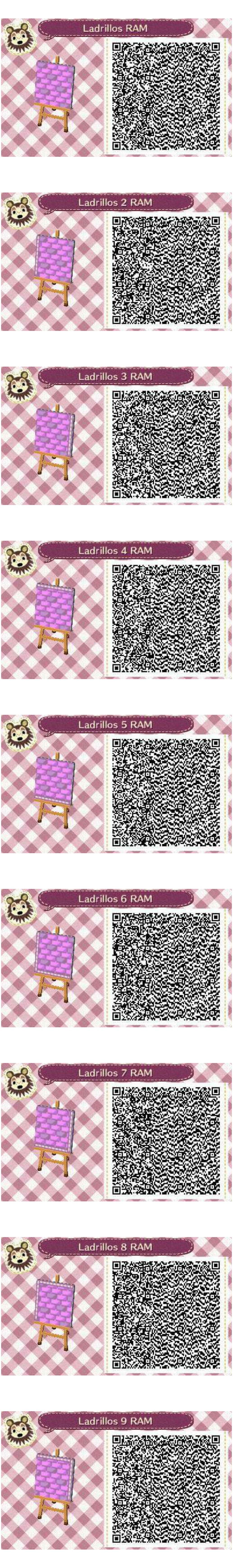 Este es un QR Code para Animal Crossing creado por mí