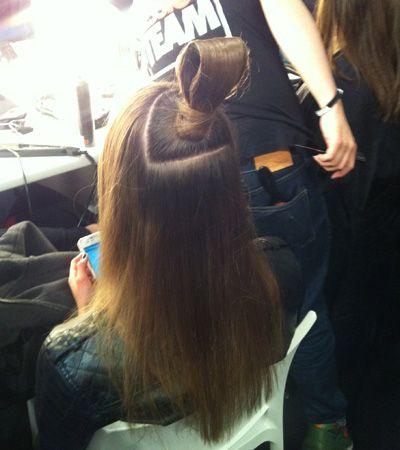 Company Magazine #backstage at Jean-Pierre Braganza #LFW #AW13 - hair by TONI & GUY