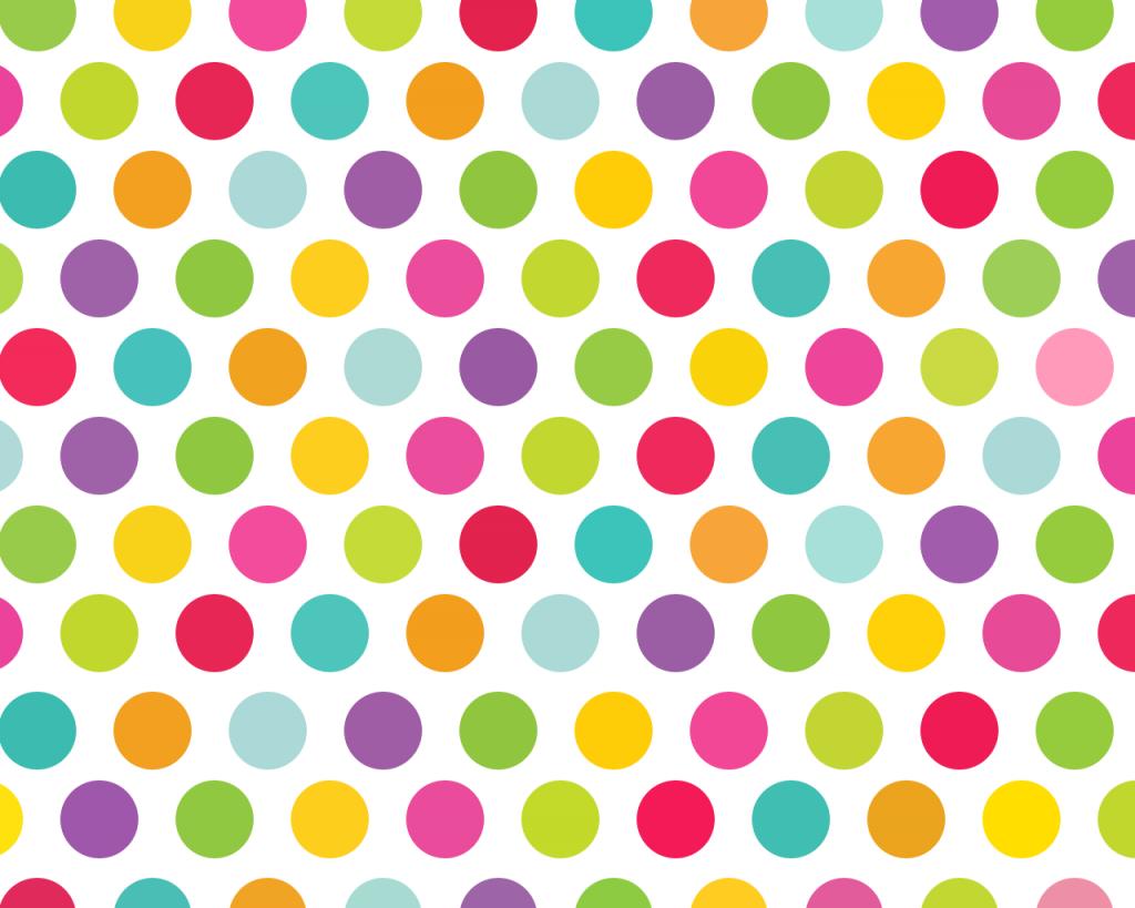 Colorful Polka Dot Backgrounds