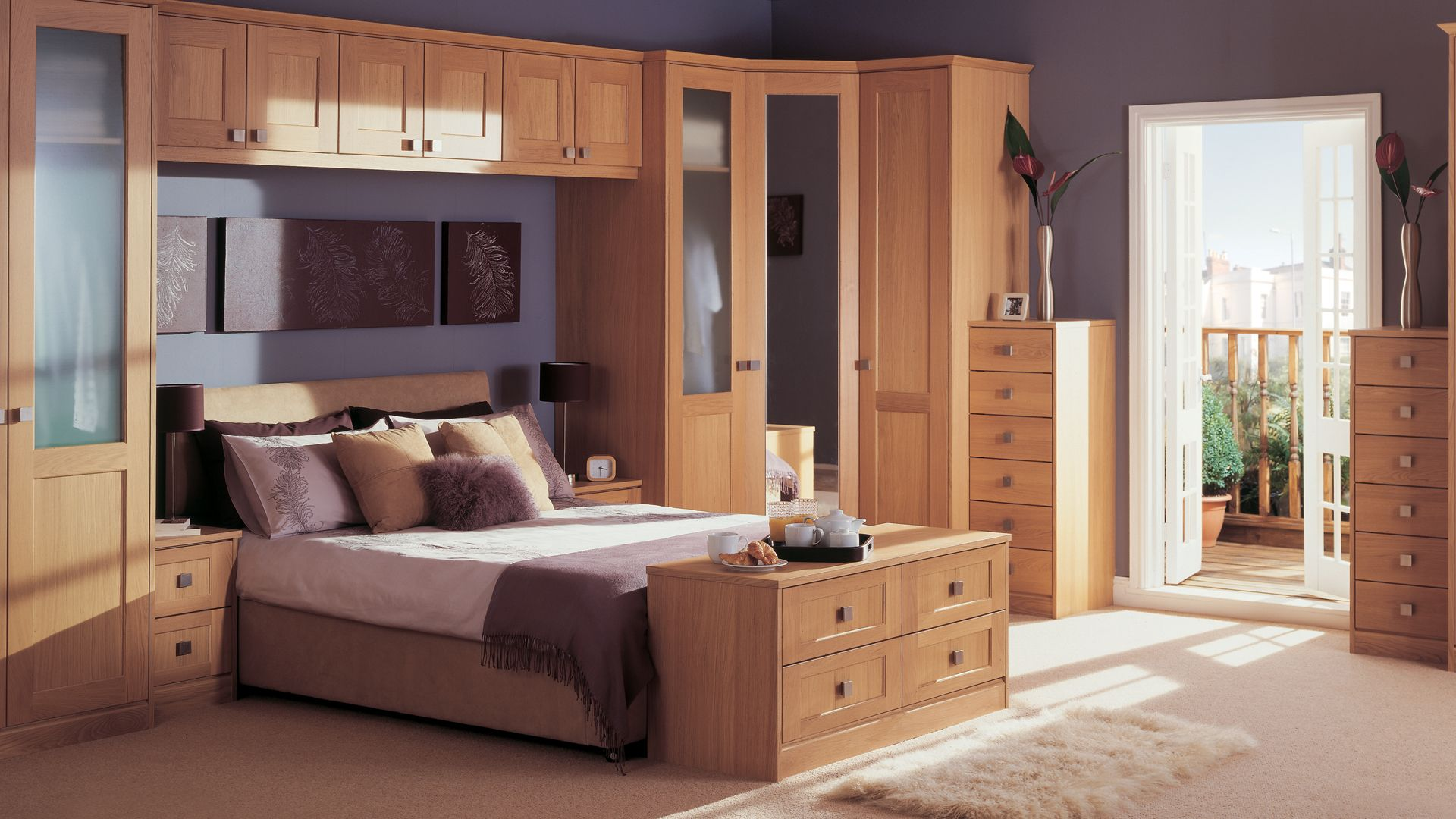 Shaker Style Bedroom Furniture Shaker Lacquered Oak The Solid Oak Shaker Style Door Makes This