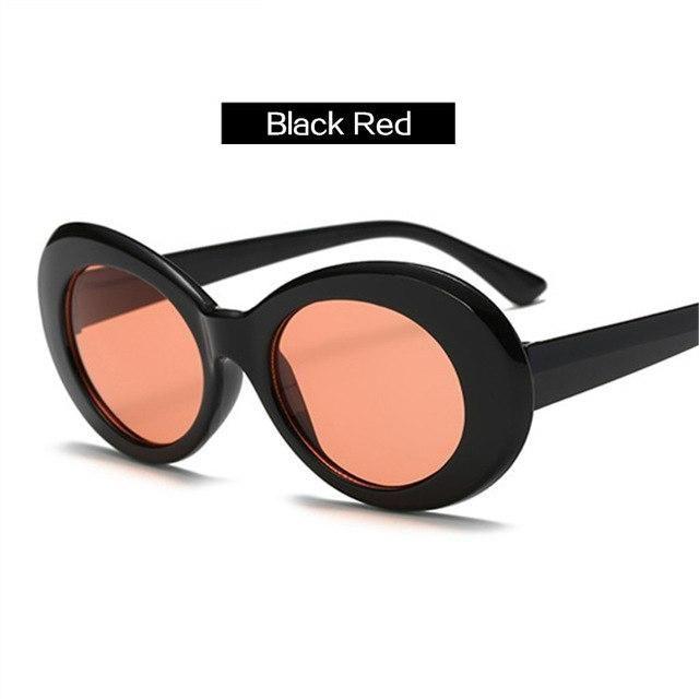 5a62c618639 UVLAIK Kurt Cobain Glasses NIRVANA Clout Goggles Sunglasses Women ...