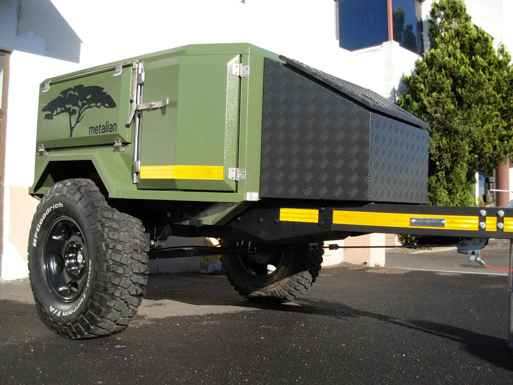 Metalian Mini 4x4 Off Road Camping Trailer