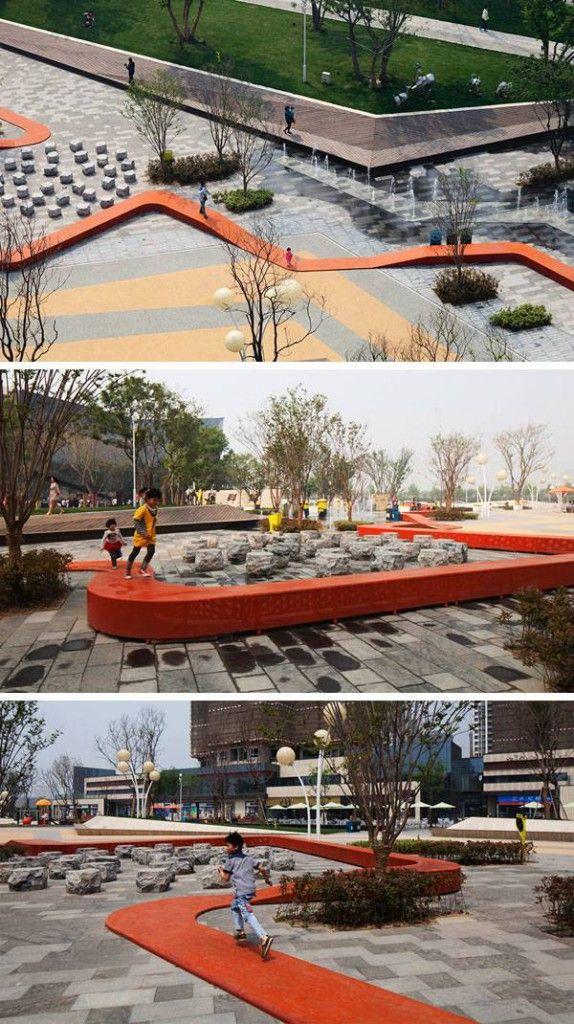 Zhengzhou Vanke Central Plaza #paisajeurbano
