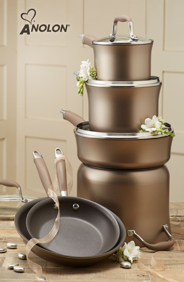 Anolon advanced bronze cookware collection giveaway