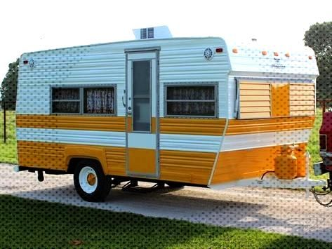 Check out how this rotting 1973 Prowler camper got a complete restoration.