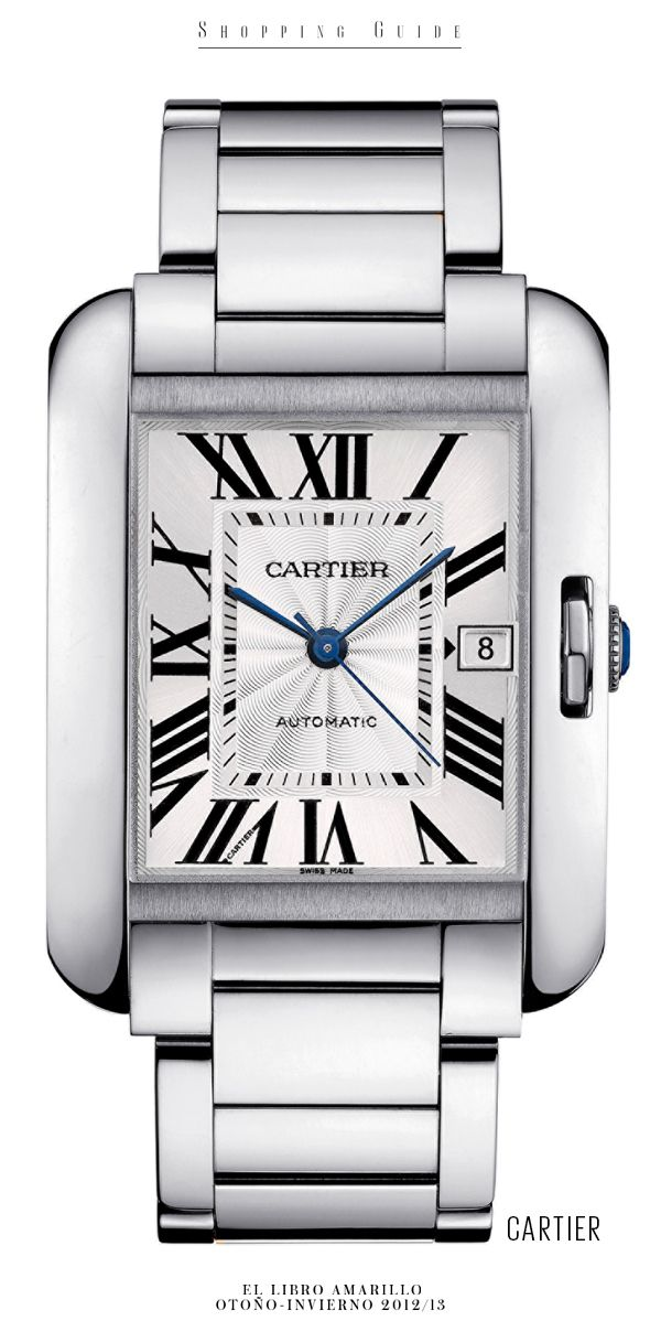 940d25de1cc7 Mujer - Reloj - Cartier - El Palacio de Hierro - El Libro Amarillo  Otoño Invierno 12 13