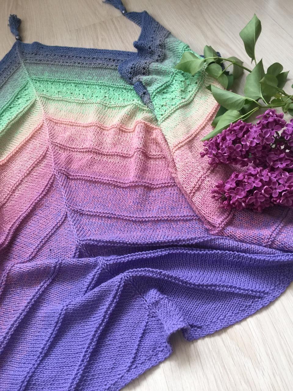 Whirl ShipsScheepjeswol mixed yarn 1 ball for 1 shawl