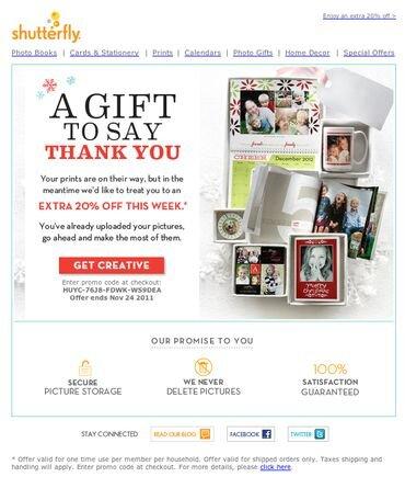 Examples Of Post Purchase Email Marketing Greg Zakowicz Tutorial Marketing Ringraziamenti